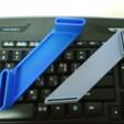 Download free STL file Book holder 1 • 3D printer design, maakmake