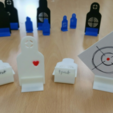 Download free STL file Shooting target series (replaceable) • Template to 3D print, maakmake