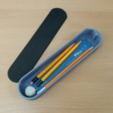 Download free STL file Pencil case • 3D printing design, maakmake