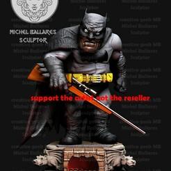 5.jpg Télécharger fichier STL Caricature de Batman le chevalier noir par Creative Geek MB • Objet pour impression 3D, sephon66