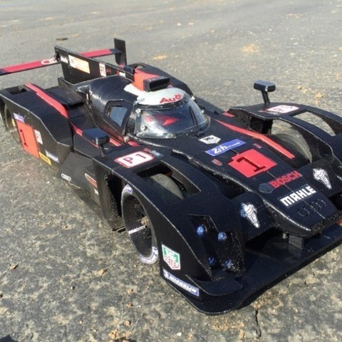 "49d4b19f4cbfad636251ea1540e79be8_preview_featured.jpg Download free STL file RS-LM 2014 Audi R18 E-Tron Quattro ""The Ali"" • 3D printer object, brett"