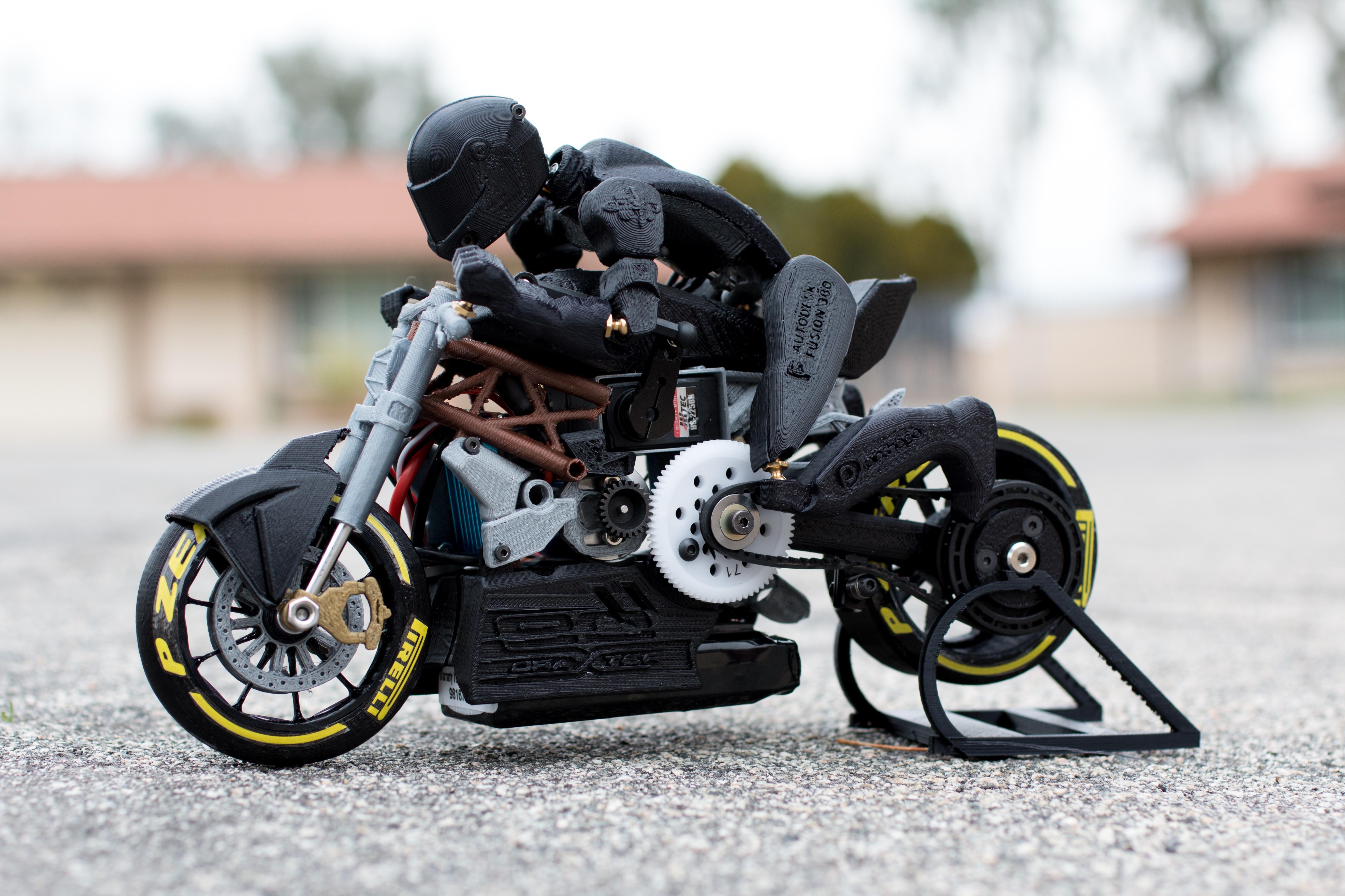 _MG_4488.jpg Télécharger fichier STL gratuit 2016 Ducati Draxter Concept Drag Bike RC • Design à imprimer en 3D, brett