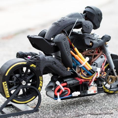 _MG_4448.jpg Télécharger fichier STL gratuit 2016 Ducati Draxter Concept Drag Bike RC • Design à imprimer en 3D, brett