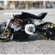 Free 3d printer designs 2016 Ducati Draxter Concept Drag Bike RC, brett