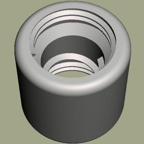 Vortex.jpg Download free STL file Bottle water energizer • 3D print model, SebAme