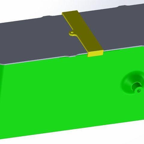 pot.jpg Download free STL file Rectangle box 30cm • 3D printing object, SebAme