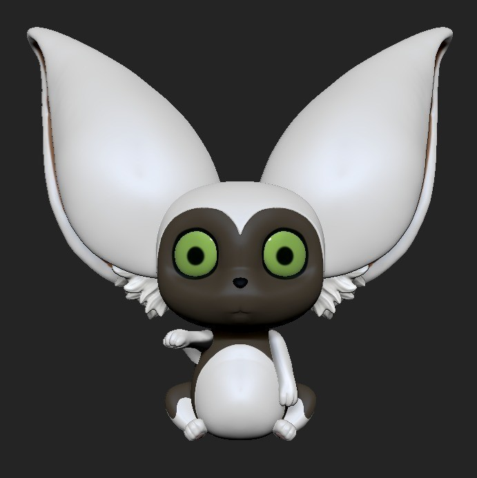 Momo.jpeg Download STL file Momo • 3D printable design, ZeraStudio