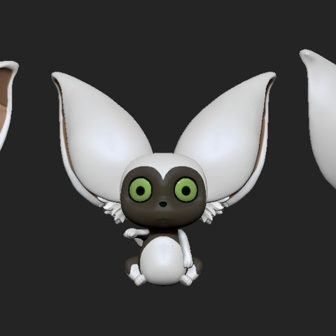 Momo3views.jpeg Download STL file Momo • 3D printable design, ZeraStudio