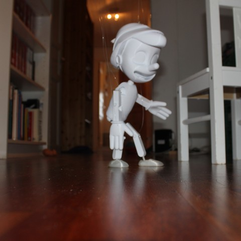 IMG_5030.JPG Download free STL file Pinocchio • Model to 3D print, Gunnarf1986
