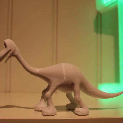 IMG_4231.JPG Download free STL file Arlo (The good dinosaur) • 3D printable object, Gunnarf1986