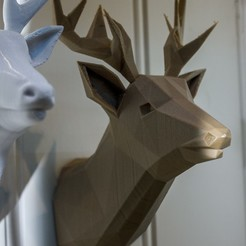 3D print files Deer Lowpoly, Gunnarf1986
