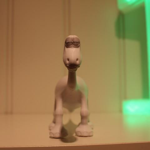 IMG_4230.JPG Download free STL file Arlo (The good dinosaur) • 3D printable object, Gunnarf1986