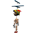 4.png Download free STL file Pinocchio • Model to 3D print, Gunnarf1986