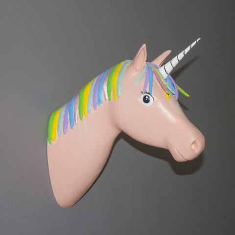 Modelos 3D para imprimir gratis Unicornio, Gunnarf1986