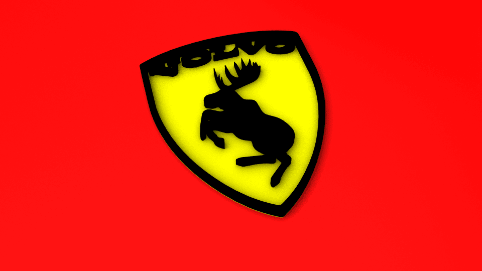 Volvo elg50.png Download free STL file Volvo moose • 3D printable template, Gunnarf1986