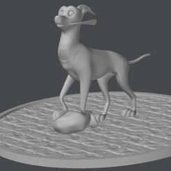 Free 3D print files Dante walking (COCO) , Gunnarf1986