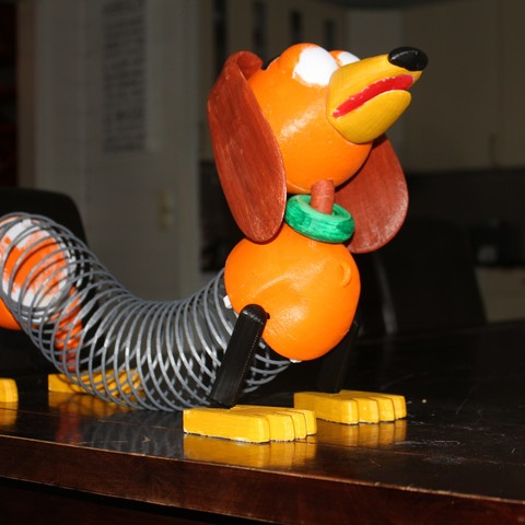 Download free STL file Slinky (Toy Story) • 3D print model, Gunnarf1986