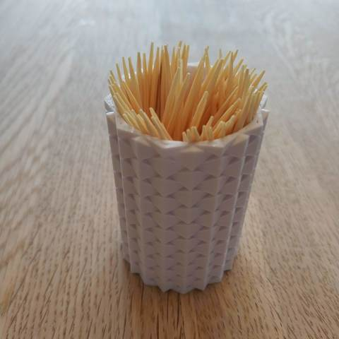 Download free STL file Toothpick Holder, Gunnarf1986