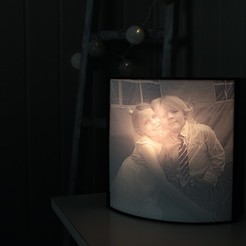 stl file Lithophane Box, Gunnarf1986