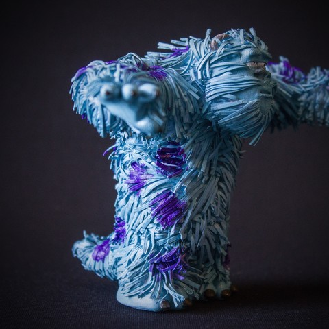 Download free 3D printer templates Sully (Monsters inc.), Gunnarf1986