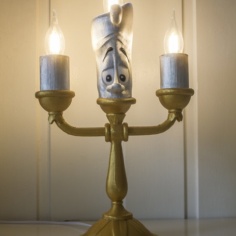 IMG_3521.jpg Download free STL file Lumière (Beauty and the beast) • 3D printing design, Gunnarf1986