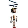 2.png Download free STL file Pinocchio • Model to 3D print, Gunnarf1986