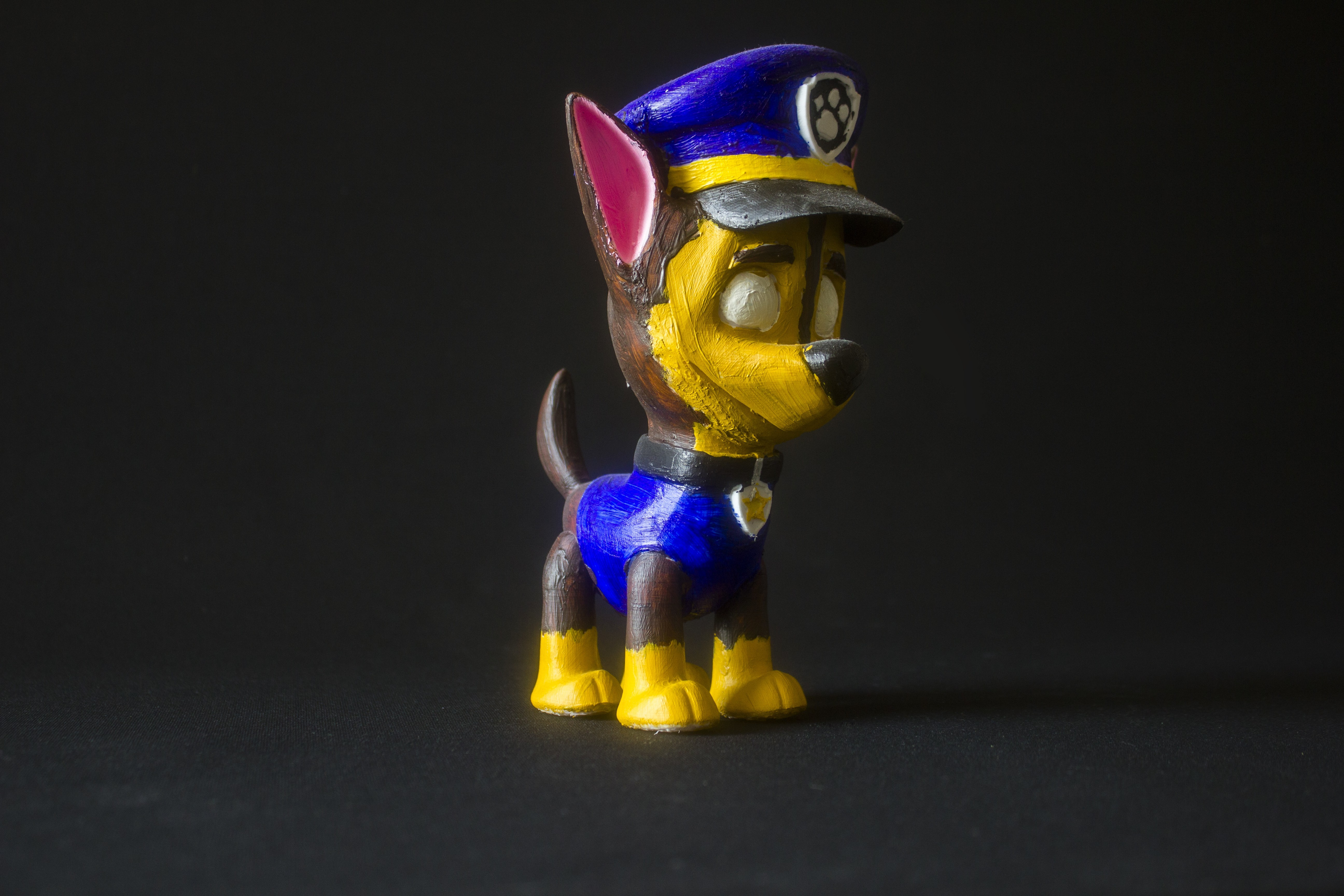 Download Free Stl File Chase Paw Patrol 3d Printer Template Cults