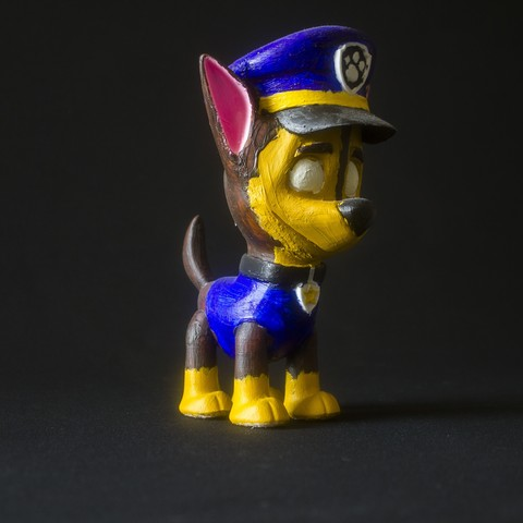 Free 3D printer designs Chase (Paw Patrol), Gunnarf1986