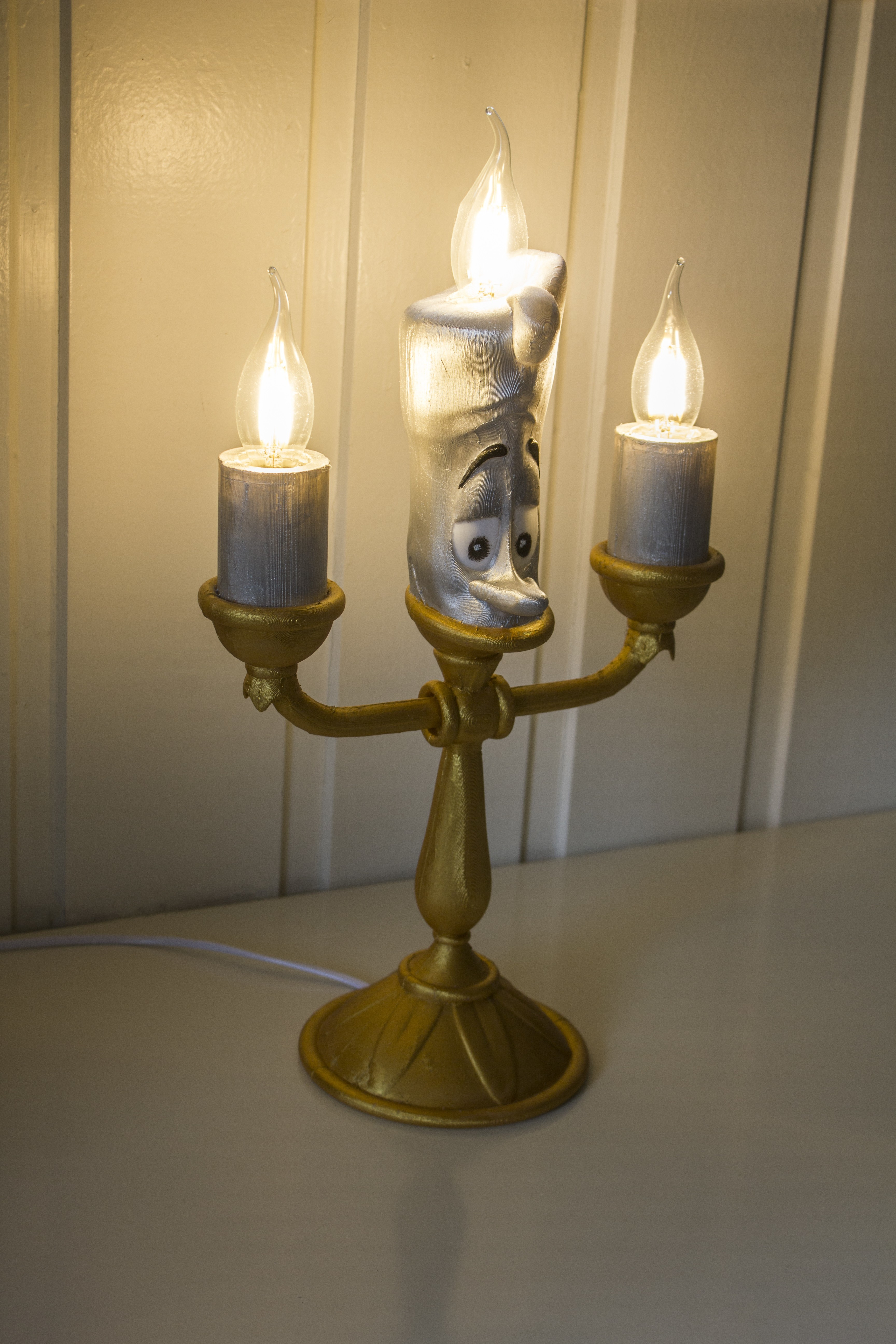 IMG_3520.jpg Download free STL file Lumière (Beauty and the beast) • 3D printing design, Gunnarf1986