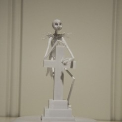 Descargar archivos 3D gratis Jack Skellington With Tombstone (Nightmare Before Christmas), Gunnarf1986