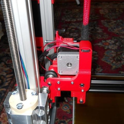 Télécharger modèle 3D gratuit Support de fil scalaire / décharge de traction, NohaBody