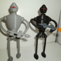 Free 3D file Guard Rob (robot), NohaBody