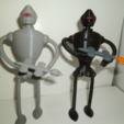 Download free STL file Guard Rob (robot) • 3D print design, NohaBody