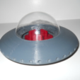 Free 3d printer files Flying Saucer, NohaBody