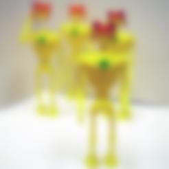 Free STL file Mogul Badur's Robots, NohaBody