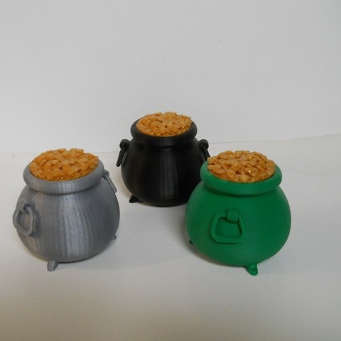 Fichier impression 3D gratuit Cache-pot irlandais en or, NohaBody