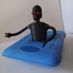 Free POL-ROB (police robot) 3D printer file, NohaBody