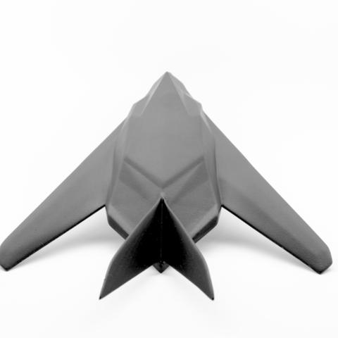 Capture d'écran 2017-03-10 à 15.37.35.png Download free STL file  F117 Nighthawk • 3D print model, Multifarium