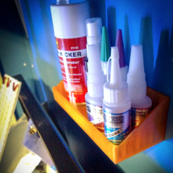 Download free 3D printing models Small Glue Shelf, Multifarium