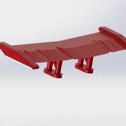 Télécharger objet 3D blade spoiler v2 hotwheels custom gaslands 1/64 crazykavan, crazykavan