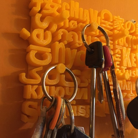 IMG_3206.jpg Download free STL file Home keychain • Design to 3D print, jucker