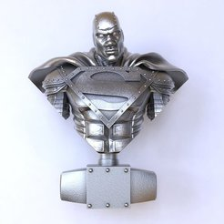 Free 3D printer files Reign of the Supermen - Steel, mag-net