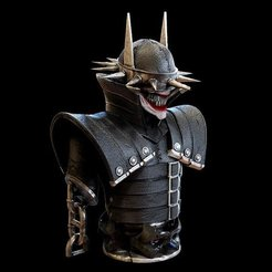 Free 3D printer files The Batman Who Laughed, mag-net