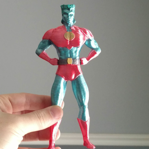 Download free 3D printer files Captain Planet, mag-net