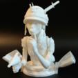 Descargar modelo 3D gratis Chica tanque, mag-net