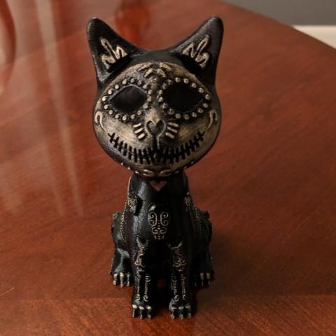 IMG_20180925_235604[1].jpg Download free STL file Sugar Cat • 3D printer design, mag-net