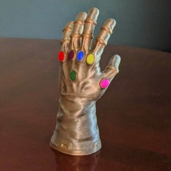 a7a15ea29349038fe8e1952f7e505e0f_display_large.jpg Download free STL file Infinity Gauntlet • 3D print template, mag-net