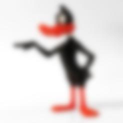 Modelos 3D para imprimir gratis Pato Daffy, mag-net