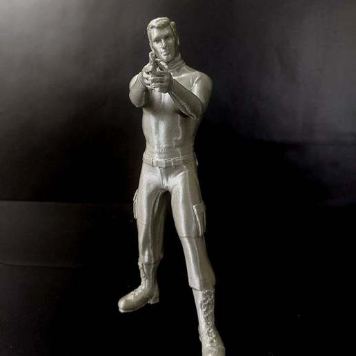 Download free 3D printing designs Sterling Archer, mag-net