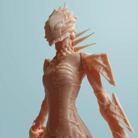 Download free STL file Knights of Sidonia - Tsumugi • 3D print object, mag-net